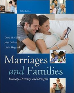 Book Marriages and Families: Intimacy, Diversity, and Strengths by David Olson