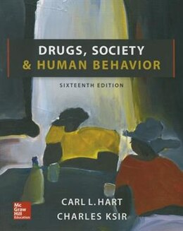 Book Drugs, Society, and Human Behavior by Carl Hart