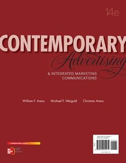 Book Contemporary Advertising Loose Leaf: And Integrated Marketing Communications by William Arens