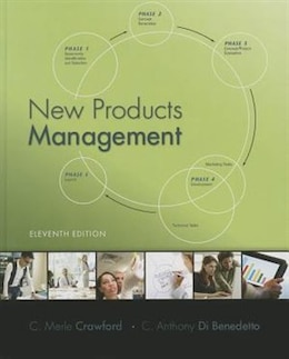 Book New Products Management by C. Merle Crawford