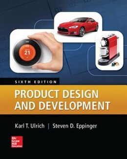 Book Product Design and Development by Karl Ulrich