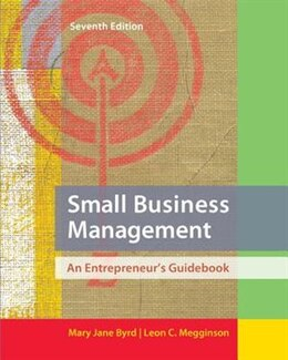 Book Small Business Management: An Entrepreneur's Guidebook by Mary Jane Byrd