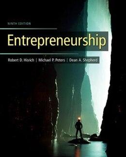 Book Entrepreneurship by Robert Hisrich
