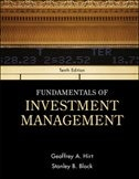 Book Fundamentals of Investment Management by Geoffrey Hirt