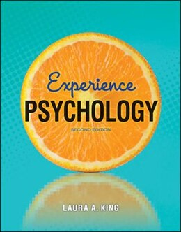 Book Experience Psychology by Laura King