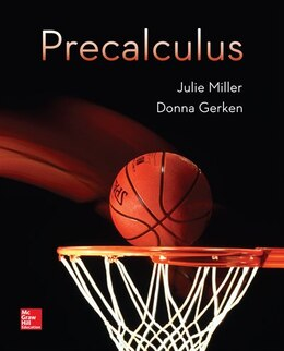 Book Precalculus by Julie Miller