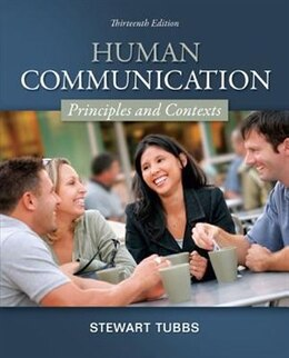 Book Human Communication: Principles and Contexts by Stewart Tubbs