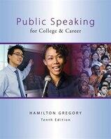 Public Speaking for College & Career