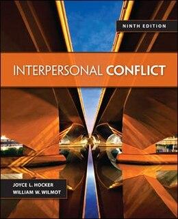 Book Interpersonal Conflict by William Wilmot