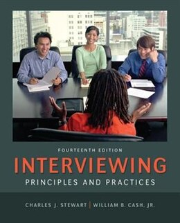 Book Interviewing: Principles and Practices by Charles Stewart