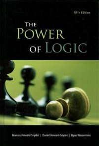 Book The Power of Logic by Frances Howard-Snyder