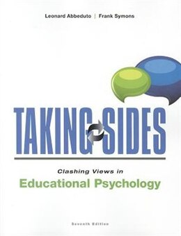 Book Taking Sides: Clashing Views in Educational Psychology by Leonard Abbeduto