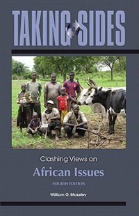 Book Taking Sides: Clashing Views on African Issues: Clashing Views on African Issues by William Moseley