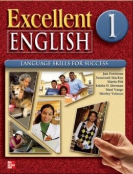 Book Excellent English 1 Student Book w/ Audio Highlights by Jan Forstrom