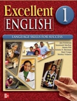 Book Excellent English 1 Student Book w/ Audio Highlights and Workbook Package by Jan Forstrom