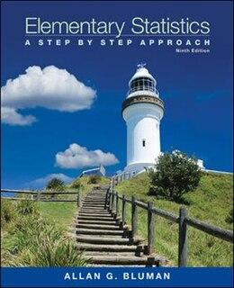 Book Loose Leaf Elementary Statistics With Formula Card by Allan Bluman