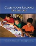 Book Classroom Reading Inventory by Warren Wheelock