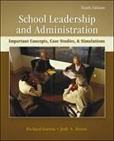 Book School Leadership and Administration: Important Concepts, Case Studies, and Simulations by Richard Gorton