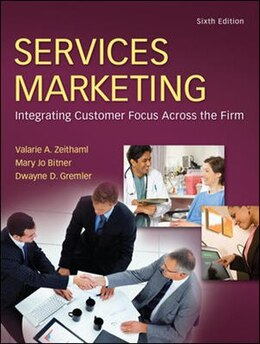 Book Services Marketing by Valarie Zeithaml