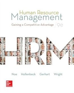 Book Human Resource Management by Raymond Noe