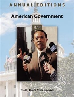 Book Annual Editions: American Government 13/14 by Bruce Stinebrickner