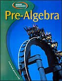 Book Pre-Algebra, Student Edition by McGraw-Hill Education