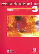 Book Essential Elements for Choir, Intermediate Level 3, Repertoire, Treble, Student Edition by McGraw-Hill Education