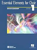 Book Essential Elements for Choir, Level 1 Musicianship Student Edition by McGraw-Hill Education