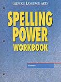 Book Glencoe Language Arts, Grade 6, Spelling Power Workbook by Mcgraw-hill