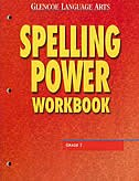 Book Glencoe Language Arts, Grade 7, Spelling Power Workbook by Mcgraw-hill