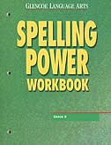 Book Glencoe Language Arts, Grade 8, Spelling Power Workbook by Mcgraw-hill