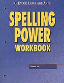 Book Glencoe Language Arts, Grade 11, Spelling Power Workbook by Mcgraw-hill