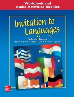 Book Invitation to Languages, Workbook & Audio Activities Student Edition by Conrad Schmitt