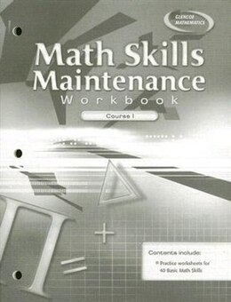 Book Math Skills Maintenance Workbook, Course 1 by McGraw-Hill Education