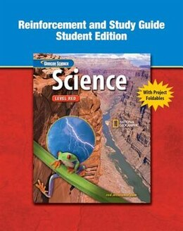 Book Glencoe Science Study Guide And Reinforcement: Level Red by Mcgraw-hill