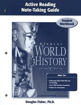 Book Glencoe World History, Active Reading Note-taking Guide: Student Workbook by Douglas Fisher