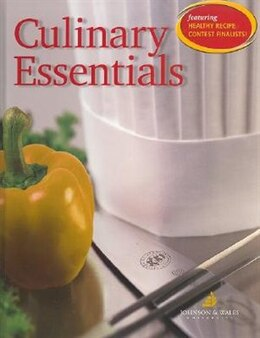 Book Culinary Essentials, Student Edition by Johnson & Wales