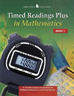 Book Timed Readings Plus Mathematics Book 5 by McGraw-Hill Education