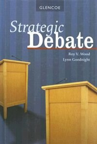 Book Strategic Debate by Roy V. Wood