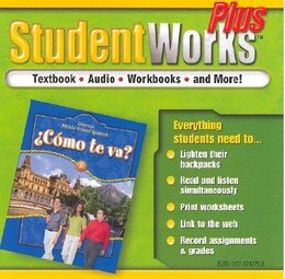 Book ¿Cómo te va? Level B Nivel azul, StudentWorks Plus CD-ROM by McGraw-Hill Education