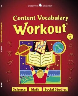 Book Jamestown Education, Content Vocabulary Workout, Student Edition, Grade 6 by McGraw-Hill Education