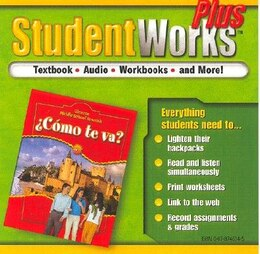 Book ¿Cómo te va? Intro Nivel rojo, StudentWorks Plus CD-ROM by McGraw-Hill Education