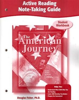 Book The American Journey, Active Reading Note-taking Guide, Workbook by Mcgraw-hill