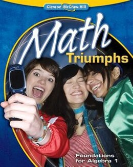 Book Math Triumphs--Foundations for Algebra 1 by McGraw-Hill Education
