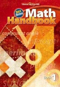 Book Quick Review Math Handbook, Book 1, Student Edition by McGraw-Hill Education