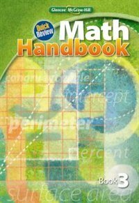 Book Quick Review Math Handbook, Book 3, Student Edition by McGraw-Hill Education