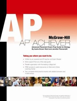 Book Biology, AP Achiever Test Prep by Audra Brown