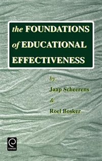 Book The Foundations of Educational Effectiveness by J. Scheerens