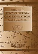 Book Concise Encyclopedia Of Grammatical Categories by K. Brown