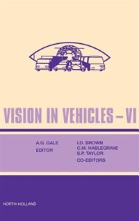 Book Vision In Vehicles Vi by A. Gale